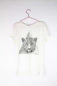 Camiseta Onça Forever 21