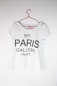 Camiseta Paris C&A Branca