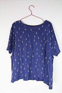 Camiseta Zara Âncoras