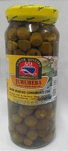 Jurubeba em Conserva Sabor Mineiro(340g liquido e 180g drenado) ou Saboardi (360g e 200 g drenado)