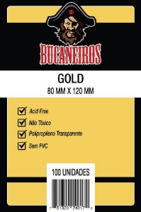 Sleeve GOLD (80x120)