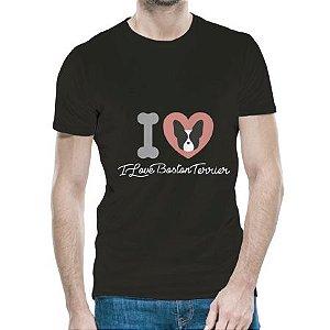 Camiseta BostonTerrier Black Masculina