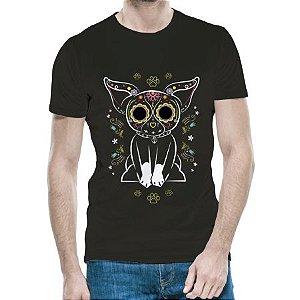 Camiseta BostonTerrier Black Skull