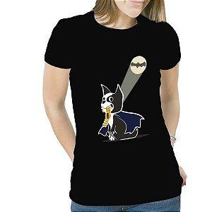 Camiseta Feminina Boston Terrier My Hero
