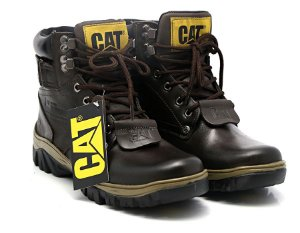 Coturno Caterpillar Adventure Latego Chocolate - Ref. 300