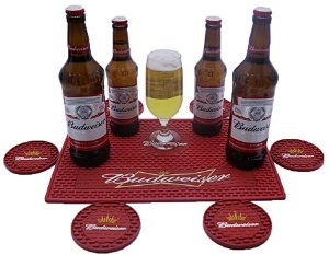 Kit Bar Mat Budweiser