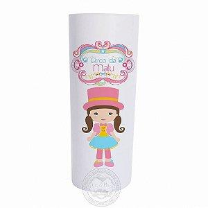 Copo long drink personalizado Circo Rosa - 10 unidades