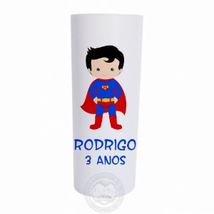 Copo long drink personalizado Super Homem - 10 unidades