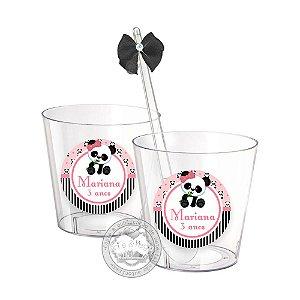 Copinho Personalizado Panda - 50 unidades