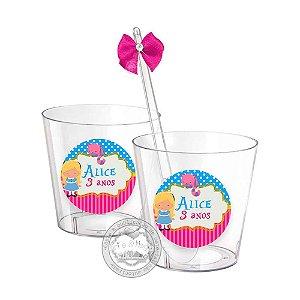 Copinhos Personalizados Alice Cute - 50 unidades