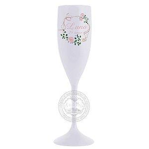 Taça Personalizada Floral - 10 unidades