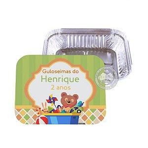 Marmitinha personalizada Brinquedos - 10 unidades