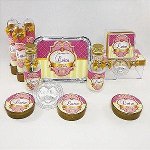 Lembrancinhas Personalizadas Coroa Realeza Rosa