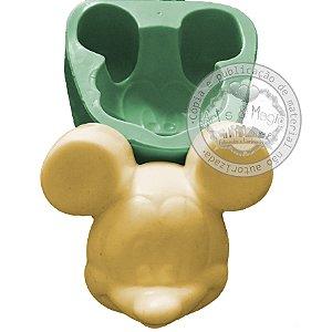 Molde de Silicone Rosto Mickey