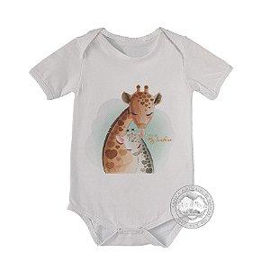 Body infantil Girafa