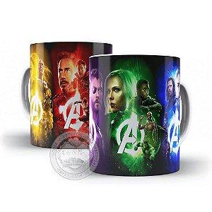 Caneca Avengers - Marvel