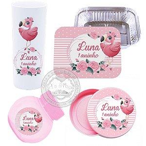 Kit Personalizado Flamingo Baby