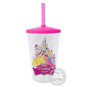 30 Copo Twister Personalizado Princesas