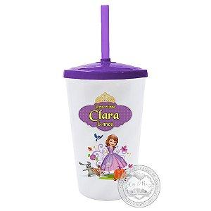 30 Copo Twister Personalizado Princesinha Sofia