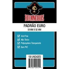 Sleeve Bucaneiros EURO 59 x 92 mm