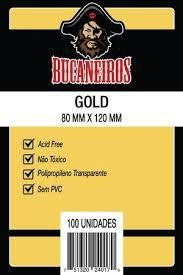 Sleeve Bucaneiros GOLD 80 x 120 mm