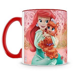 Caneca Personalizada Princesas & Pets (Ariel)