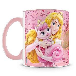 Caneca Personalizada Princesas & Pets (Aurora)