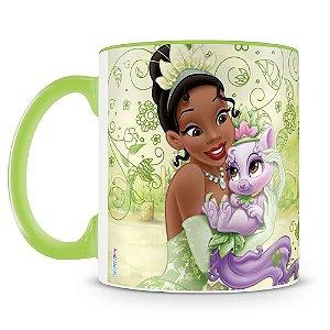 Caneca Personalizada Princesas & Pets (Tiana)