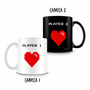 Caneca Dupla Personalizada Player
