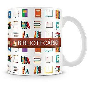 Caneca Personalizada Profissão Bibliotecário
