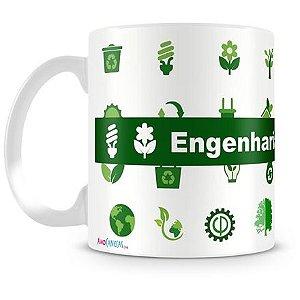 Caneca Personalizada Profissão Engenharia Florestal