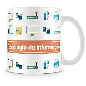 Caneca Personalizada Profissão Tecnologia da Informação