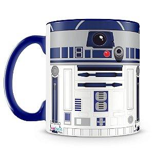Caneca Personalizada Star Wars R2D2 (Azul Royal)