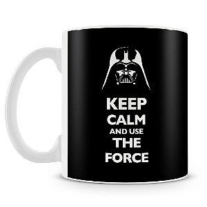 Caneca Personalizada Darth Vader Keep Calm