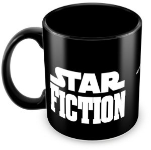 Caneca Personalizada Darth Vader Star Fiction (100% Preta)