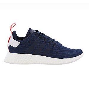 Tênis Adidas NMD R2 Primeknit - Azul Marinho