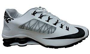 (Promoção')Tênis Nike Shox R4 Superfly- Branco com Preto