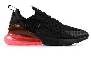 Tênis Nike Air Max 270- Preto com Vermelho