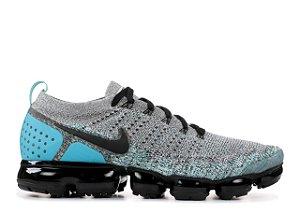 8193c9a8a97 Tênis Nike Vapor Max 2.0- Cinza com Azul claro