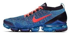 Tênis  Nike Vapormax 3.0 - Azul com Preto