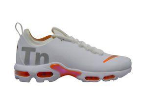 Tênis Nike Air Max Plus Tn Ultra- Branco com Laranja