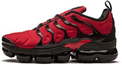 Tênis Nike Air Vapor Max Plus Preto com Vermelho Masculino