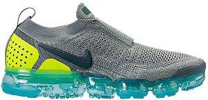 Promoção Black Friend''  Tênis Nike Air Vapor Max Flyknit 2.0 - Cinza com Amarelo