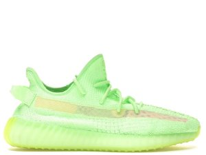 Tênis Yeezy Boost 350 V2- Verde Forescente Masculino