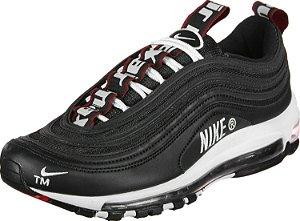 Tênis Nike Air Max 97- Preto Com Branco Masculino'