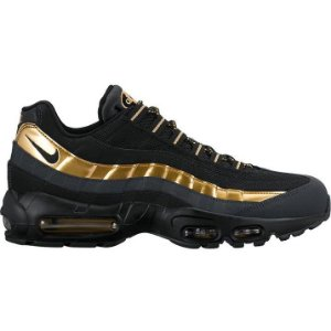 Tênis Nike air max 95 - Preto com Dourado Masculino'