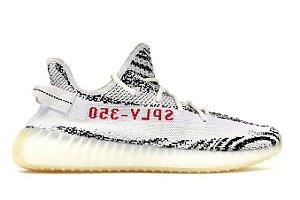 Tênis Adidas Yeezy Boost 350 V2- preto Branco Masculino