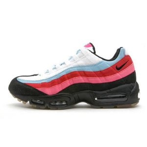 Tênis Nike air max 95 - Branco e Vermelho com Rosa Feminino