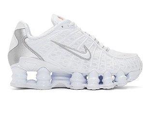 Tenis Nike Shox Tl 12 Molas Branco- Feminino