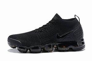 tênis Nike Vapormax Flyknit - Preto Masculino